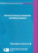 Serious Fraud in Australia and New Zealand