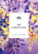 The Constitution as in Force on 1 June 2003 Together with Proclamation Declaring the Establishment of the Commonwealth Letters Patent Relating to the Office of Governor-General Statute of Westminister Adoption Act 1942