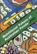Nutritional Values of Australian Foods