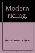 Modern Riding