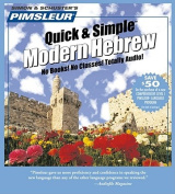 Hebrew, Q&s  : Learn to Speak and Understand Hebrew with Pimsleur Language Programs  [Audio]