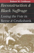 Reconstruction and Black Suffrage