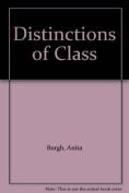 Distinctions of Class