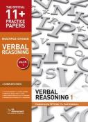 11+ Practice Papers, Verbal Reasoning Pack 1, Multiple Choice