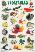Vegetables (Laminated posters)