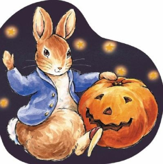 Peter Rabbit Seedlings: Peter Rabbit's Learns to Count on His First Halloween (Beatrix Potter Baby Books)
