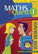 Maths Quest for Queensland Homework Book 1