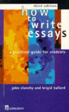 clanchy and ballard essay writing