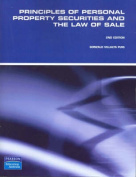 Principles of Personal Property Securities and the Law