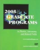 2005 Graduate Programs