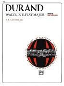 Waltz in E-Flat Major: Sheet