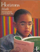 Alpha Omega Publications JKC120 Horizons Math Kindergarten complete set