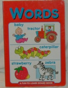 Words (Fun-to-learn book) [Board book]