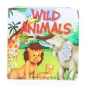 Wild Animals (Large Square Sparkle Books) [Board book]