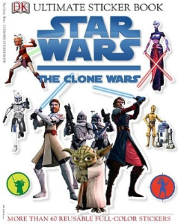 Star Wars: The Clone Wars [With Stickers]