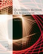Quantitative Methods for Management, 3e