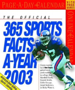 Sports Facts Page A Day 2003