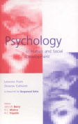 Psychology in Human and Social Development