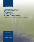 Communication Disorders in the Classroom