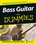 Bass Guitar for Dummies [With Audio CD]