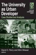 The University as Urban Developer