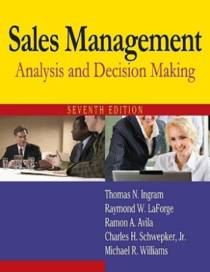 Sales Management: Analysis and Decision Making