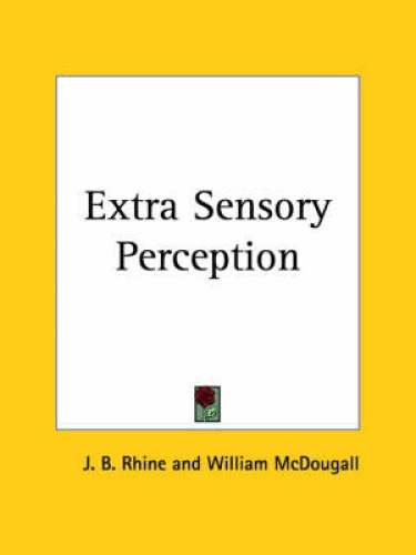 extra sensory perception Extrasensory perception is damien's gift to adapt to other senses which form into special talents aside from his power to experience new senses every so often, he has developed the power to.