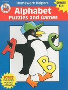Alphabet Puzzles and Games, Homework Helpers, Grades K-1 (Brighter Child
