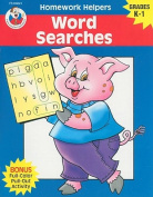 Word Searches, Homework Helpers, Grades K-1 (Brighter Child