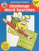 Challenge Word Searches, Homework Helpers, Grades K-1 (Brighter Child