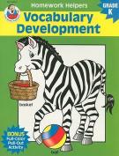 Vocabulary Development, Homework Helpers, Grade K (Brighter Child