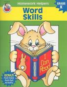 Word Skills, Homework Helpers, Grade K (Brighter Child