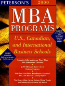 MBA Programs: 2000