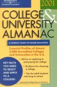 College & University Almanac 2001