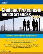 Graduate Programs in Social Sciences