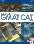 Master the Gmat Cat, 2004/E W/CD