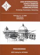 Zurich Seminar on Broadband Communications