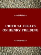 Critical Essays on Henry Fielding