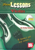 First Lessons Violin [With CD]
