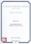 Guitar Works, Volume VII [GER]