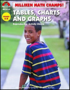 Lorenz Corporation MP3416 Math Champs Tables Charts & Graphs- Grade 6-8