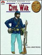 Lorenz Corporation MP8825 Civil War- Book & PowerPoint CD- Grade 4-6