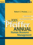 The 2005 Pfeiffer Annual