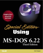 Using MS-DOS 6.22 [Special Edition]