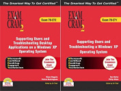 MCDST 70-271 and 70-272 Exam Cram 2 Bundle
