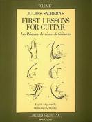 First Lesson for Guitar, Volume 1/Las Primeras Lecciones de Guitarra