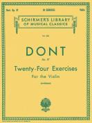 24 Exercises, Op 37