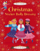 Christmas Sticker Dolly Dressing [With Stickers]