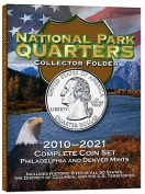 National Park Quarters Collector Folder