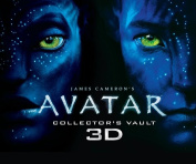 James Cameron's Avatar Collector's Vault Book 3D [With 3D Pandora Removable Profiles and 3-D Glasses]